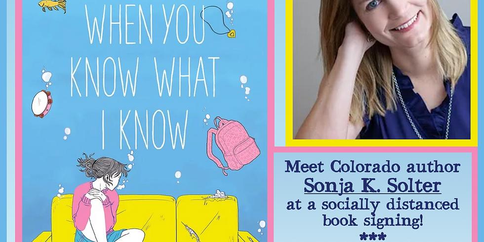 Sonja K Solter Book Signing