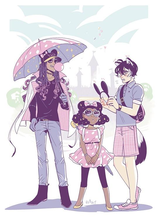 Azhar, Loyal, and Adela