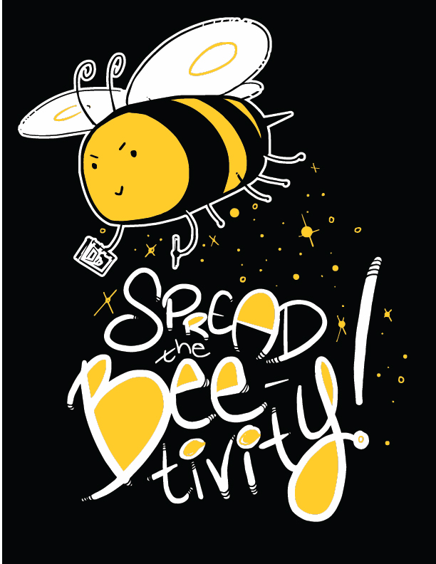 spread the beetivity