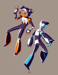 Cyber Twins.