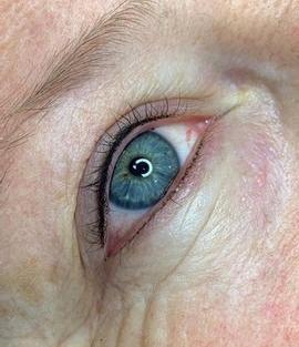 Eyelash liner enhancement