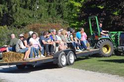 CR Tractor Hay Ride