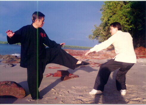 Kungfu masters teach Kungfu, not Enlightenment.