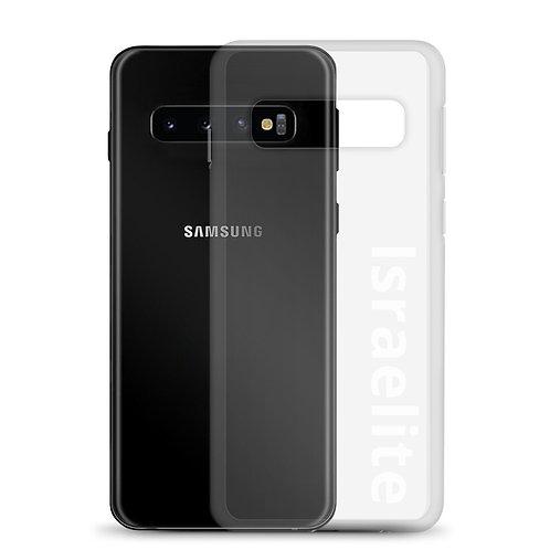 """""""Israelite"""" Samsung Case Clear"""