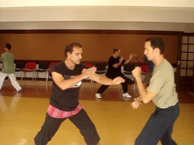 The same form is used in Taiji dance and genuine Taijiquan, but in the former it is for show, and in the latter it is or combat application.