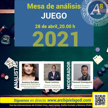 A8TV _ Cartel analistas Juego.png