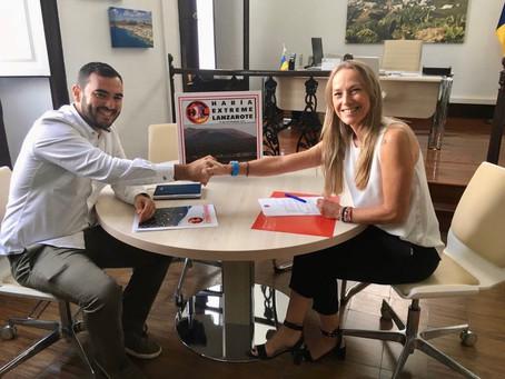 El Grupo Naviera Armas Transmediterránea respaldará dos años más a Haría Extreme Lanzarote