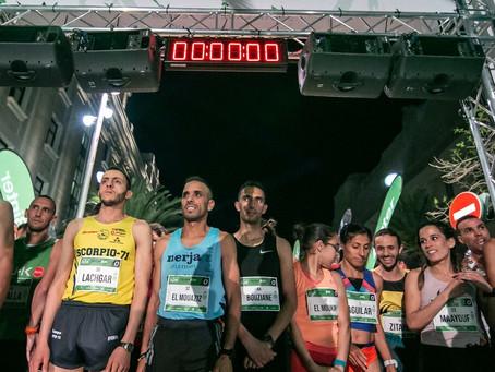 Cartel de lujo en la Media Maratón de la Binter NightRun Las Palmas de Gran Canaria