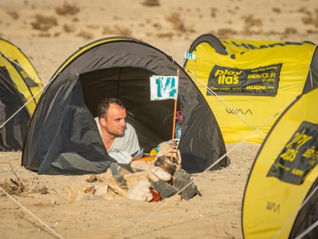 Descanso y ocio en el día libre de la Half Marathon des Sables Fuerteventura
