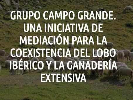 Iniciativa mediación social para la coexistencia del lobo ibérico y la ganadería extensiva