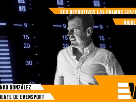 Entrevista al presidente de Evensport - SER Deportivos Las Palmas