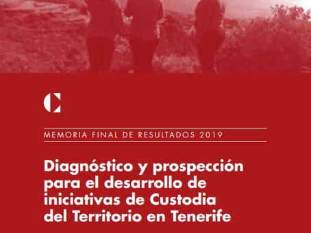 Tenerife. Diagnóstico y prospección para el desarrollo de iniciativas de custodia del territorio