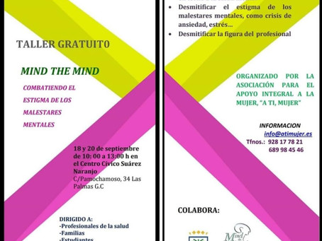 TALLER GRATUITO: Mind the Mind