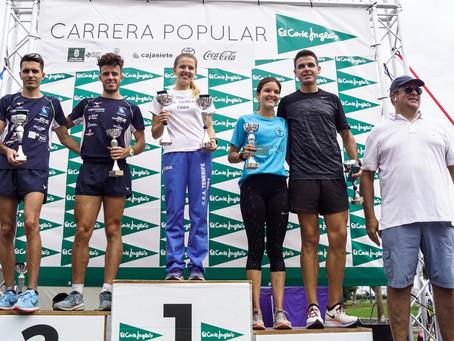 Jonay González y Johanna Ardel ganan la Carrera Popular El Corte Inglés