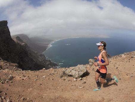 Fernanda Maciel, gran protagonista de la Haría Extreme Lanzarote 2019