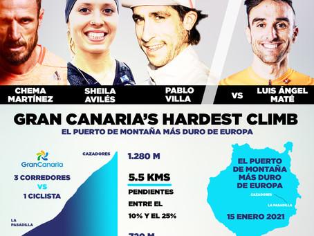 Llega Gran Canaria's Hardest Climb, un espectacular reto en el puerto de montaña más duro de Europa