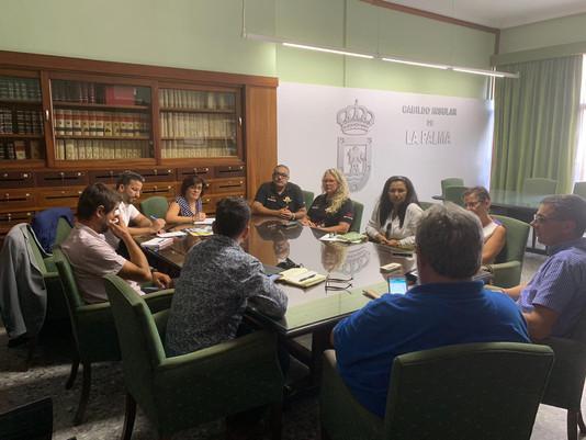 Las empresas de Turismo Activo de Canarias se concentran en La Palma de cara a la organización del p
