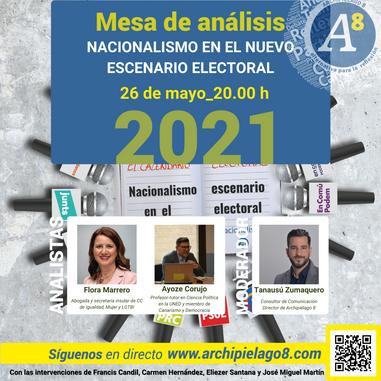 A8TV  Cartel analistas Nacionalismo.png