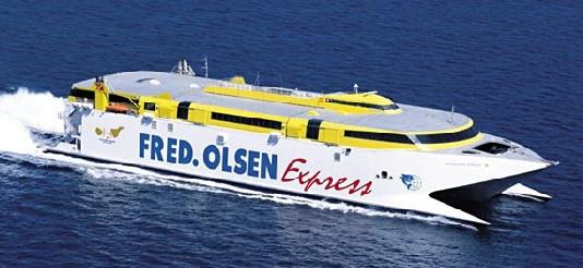 Fred. Olsen Express, nuevopartnerde ActivaCanarias