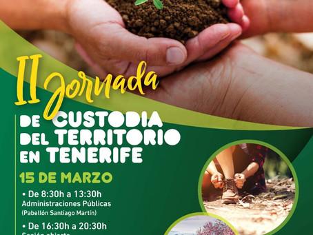 II Jornada de Custodia del Territorio en Tenerife - 15.03.2019