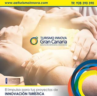 El Clúster Turismo Innova Gran Canaria ha resultado beneficiario de una subvención (CLÚSTERES-2020).