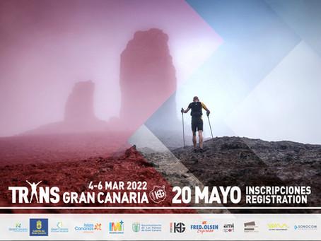 La Transgrancanaria HG 2022 abrirá inscripciones el 20 de mayo