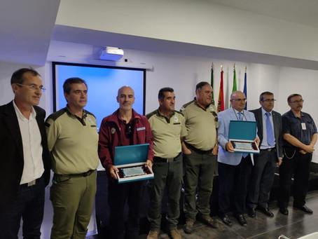 Asociaciones de Caza de España premian a los agentes de Medio Ambiente del Cabildo de Gran Canaria