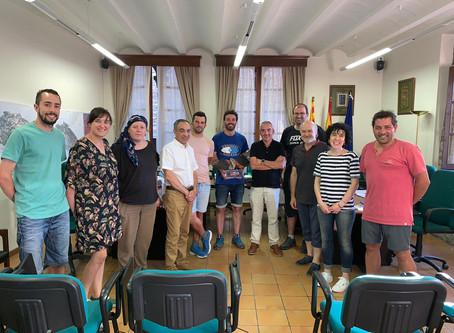 Firmado el acuerdo de custodia del territorio entre la FCQ y Ayuntamiento de Aínsa