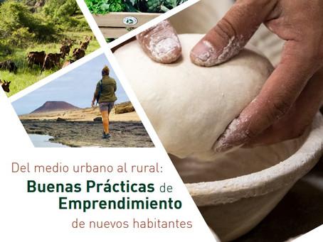 La Red Rural Nacional publica una guía de buenas prácticas de nuevos habitantes rurales