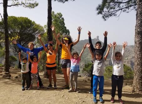 La Escuela de Trail Transgrancanaria realiza su VI actividad en compañía de Luca Papi