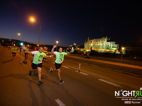 Shamack Kiprop y Teresa Urbina ganan la Binter NightRun Mallorca SER Runner
