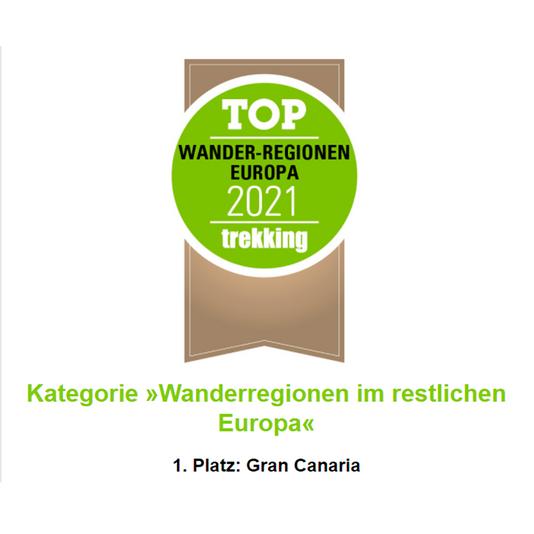 Gran Canaria premiada en Alemania como región favorita de Europa para la práctica del senderismo
