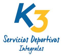 LOGO K3 SERVICIOS DEPORTIVOS INTEGRALES-