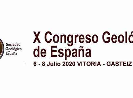 X Congreso Geológico de España