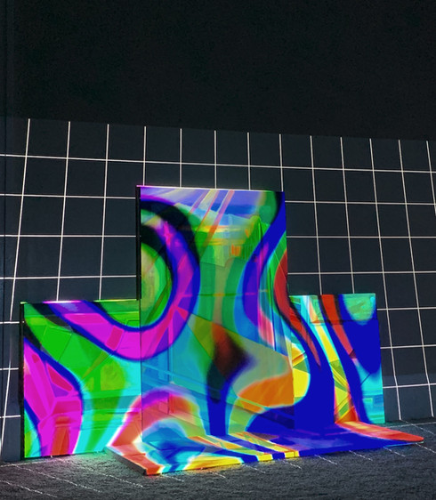 Projection On Paintings
