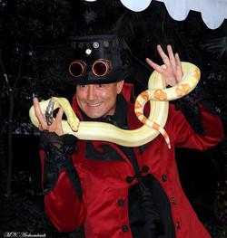 charmeur de serpents côte d'azur
