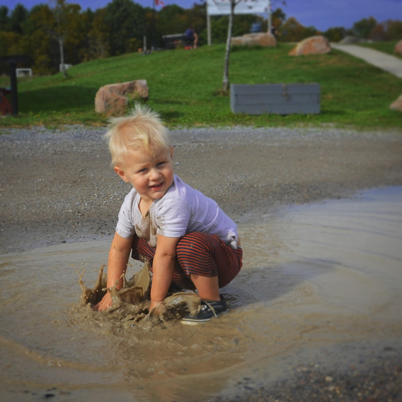 Swimming in Puddles