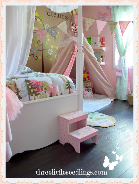 🐻Girl's Woodland Bedroom
