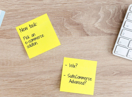 SuiteCommerce Advanced vs. Wix