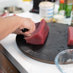 Yelowfin Tuna prep
