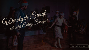 Wesołych Świąt! Do tańca wracamy 18 stycznia :)
