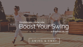 Boost Your Swing - weekendowe warsztaty swinga