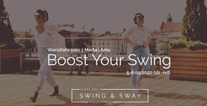 Boost Your Swing - weekendowe warsztaty swinga