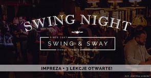 SWING NIGHT - IMPREZA + 3 LEKCJE OD PODSTAW