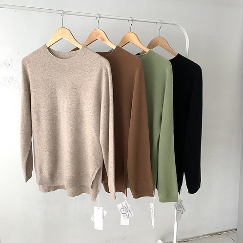 whole garment 100% wool knit.