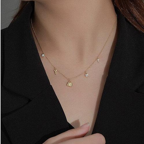 Multi Charm Necklace
