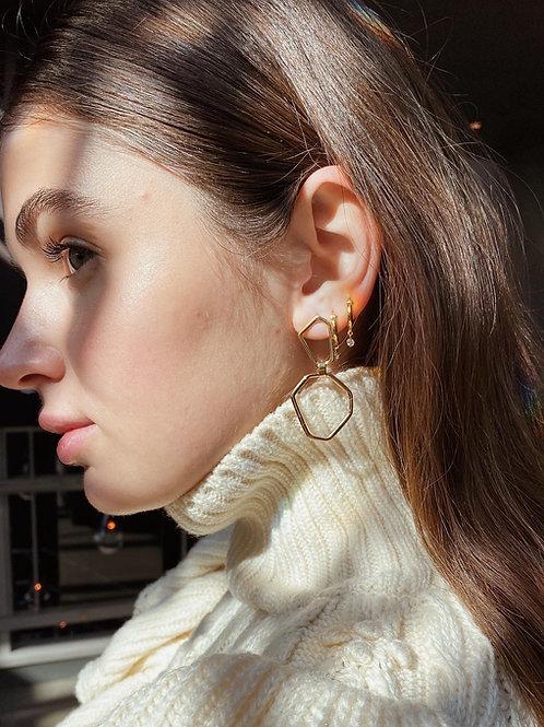 figure earrings