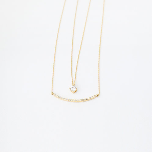 Two Lines Necklace