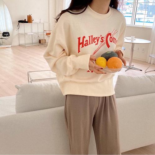 Halley's Comet sweat shirt