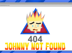 404 Johnny Not Found